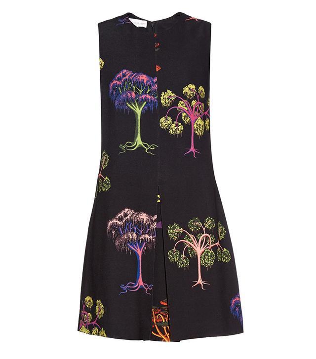 Stella McCartney Daisy Psychedelic Garden-Print Dress