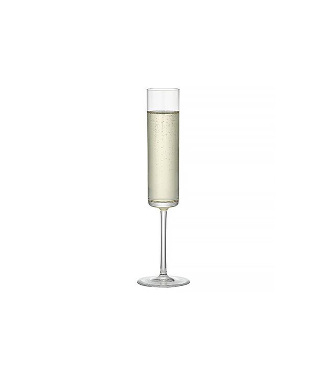 Crate and Barrel Edge Champagne Glass