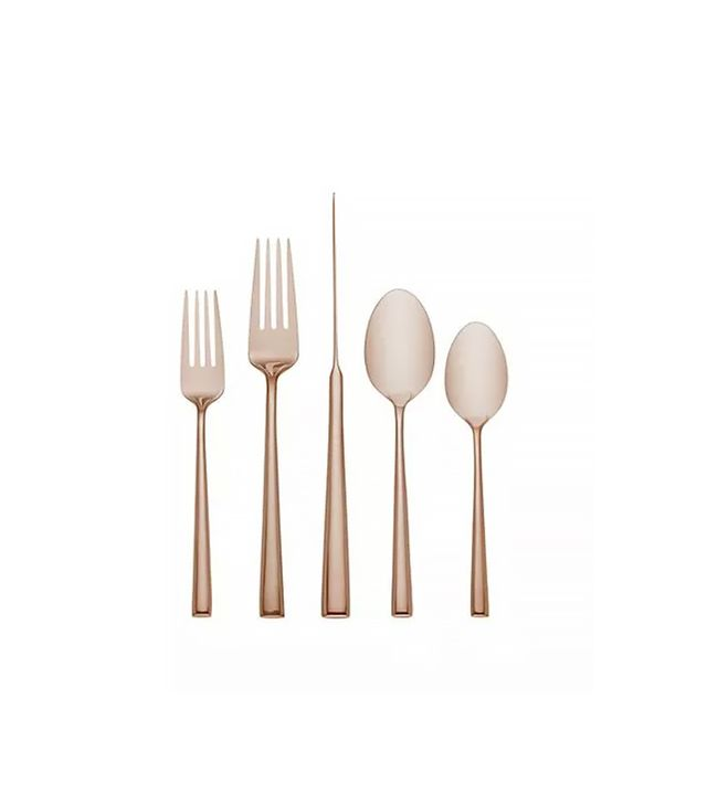 Kate Spade New York Malmo Rose Gold Five Piece Place Setting
