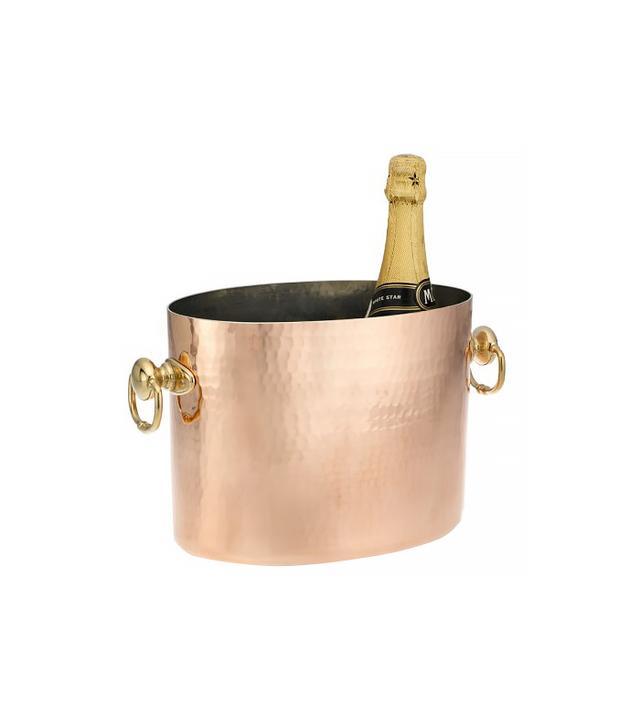 Williams-Sonoma Mauviel Hammered Copper Champagne Bucket