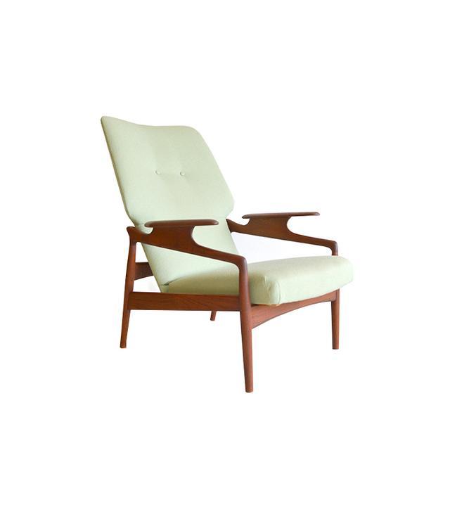 The Modern Vault Danish Reclining Lounge Chair