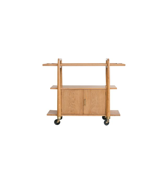 Homestead Seattle Midcentury Bar Cart