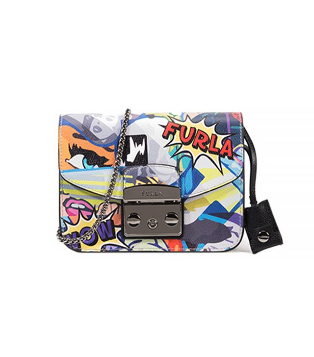 Furla Metropolis Mini Crossbody Bag, Multicolor