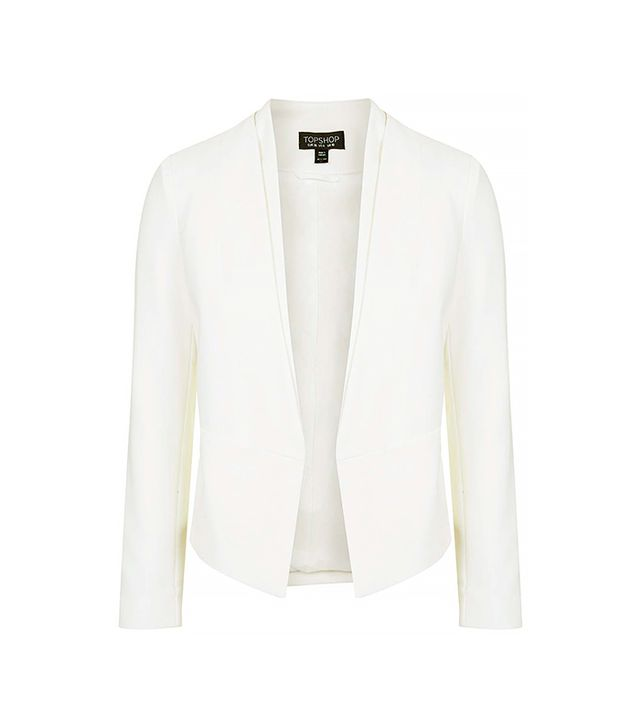 Topshop Double Collar Blazer