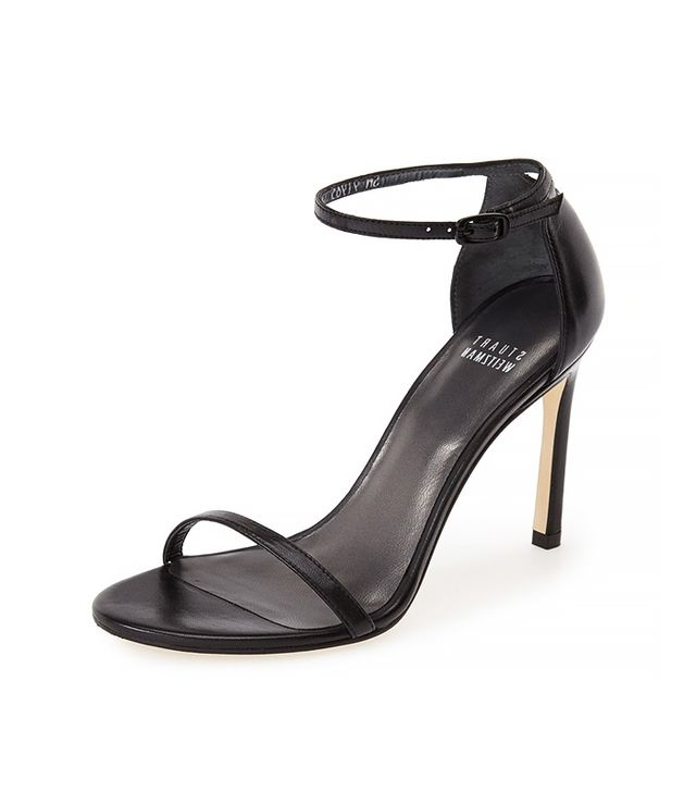 Stuart Weitzman Nudistsong Ankle Strap Sandals