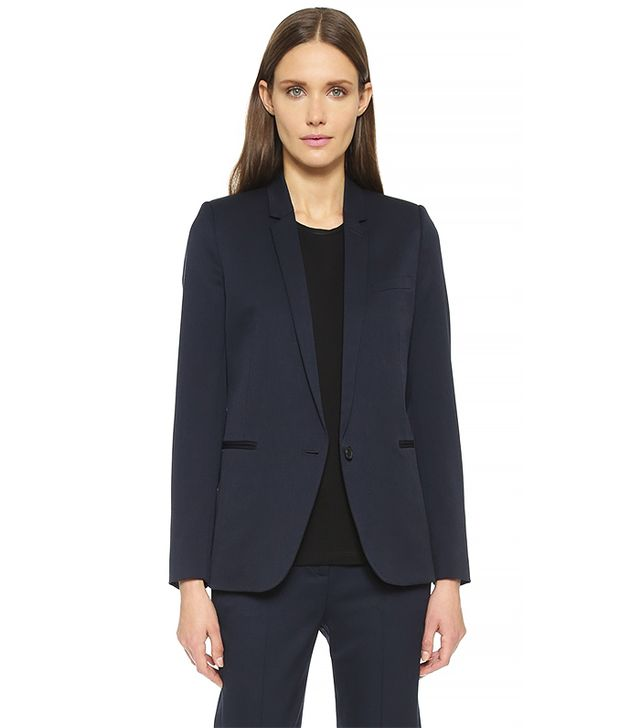 The Kooples Timeless Suit Jacket, Navy