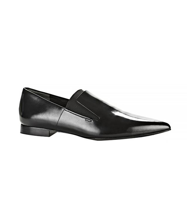 Alexander Wang Jamie Flat Oxford, Black