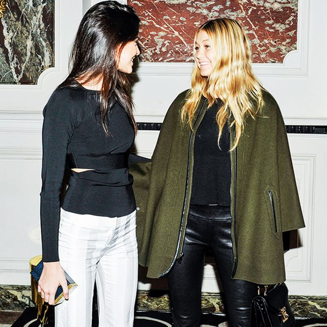 Gigi Hadid Explains How She's Related to Kendall Jenner