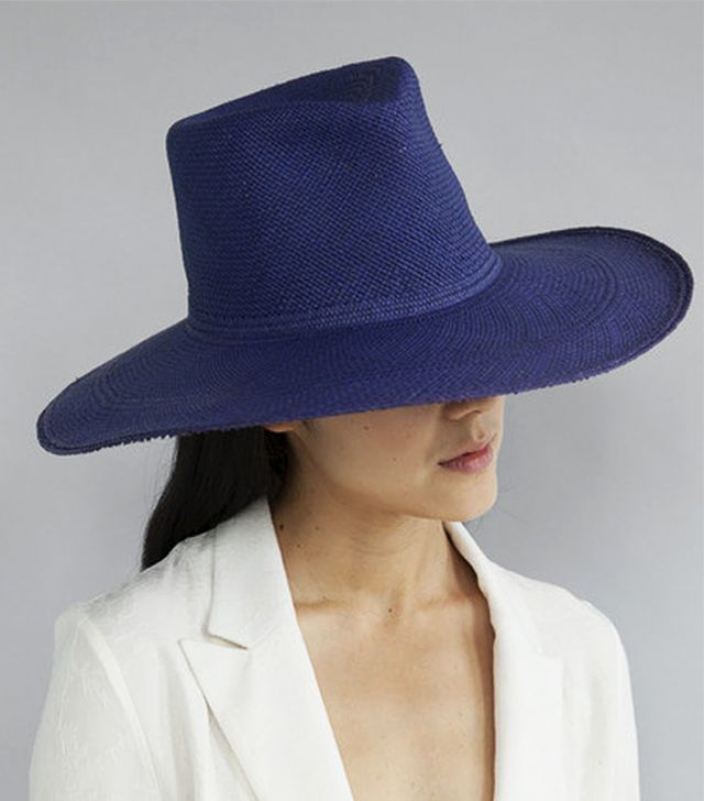 Clyde Straw Pinch Hat