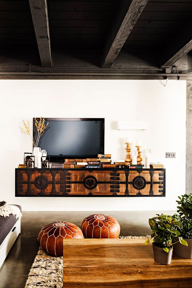 """""""One of the most common design mistakes that I see is designing around massive televisions; not just in media rooms but oftentimes in formal living rooms! In order to work around such a potential..."""