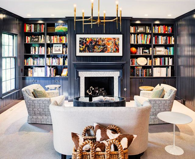 """""""I often see items being too 'matchy-matchy' in a space. I feel the days of matching sofas and chairs and occasional table collections are long gone! The fun part of design is mixing..."""
