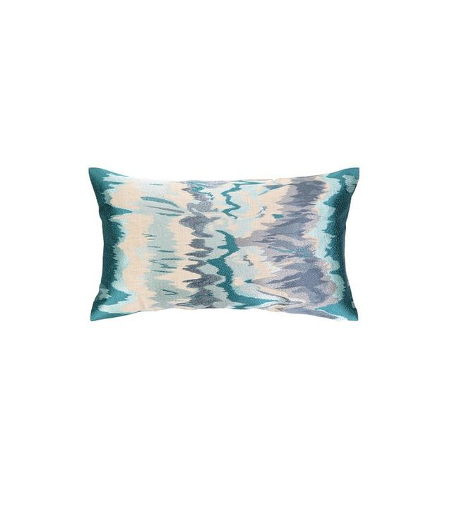 D.L. Rhein Seismograph Embroidered Pillow