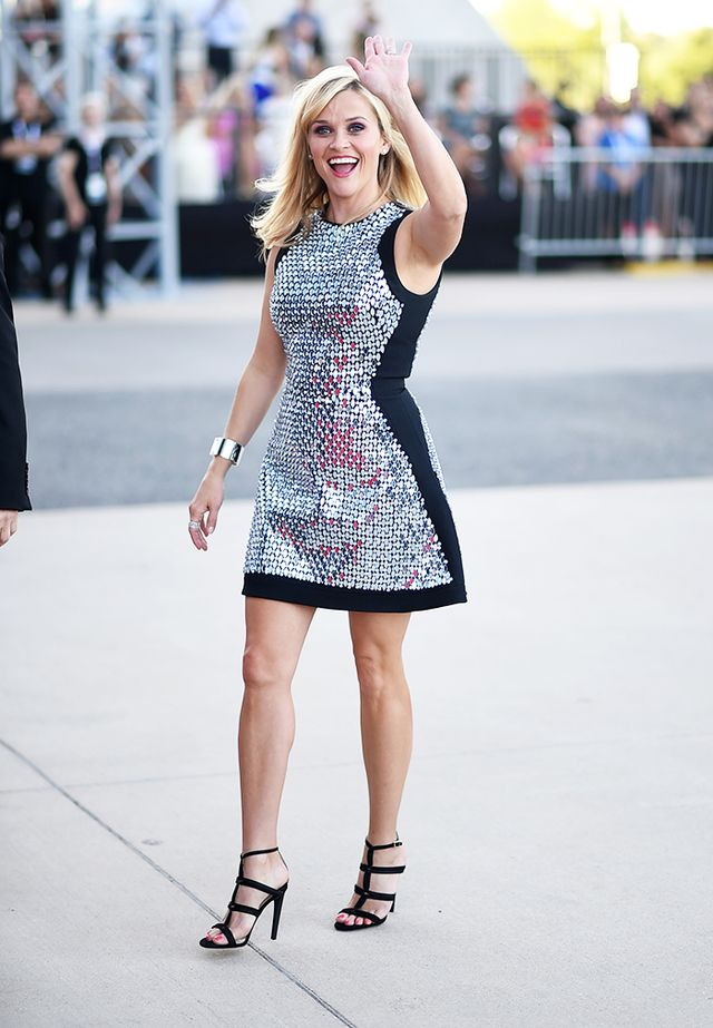 5. Go for a big smile like Reese Witherspoon.
