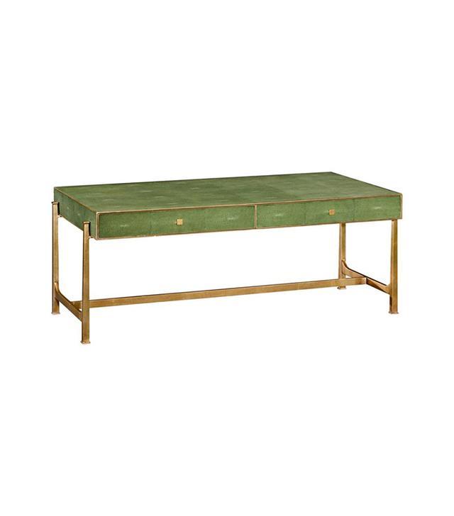 One Kings Lane Daria Coffee Table in Green