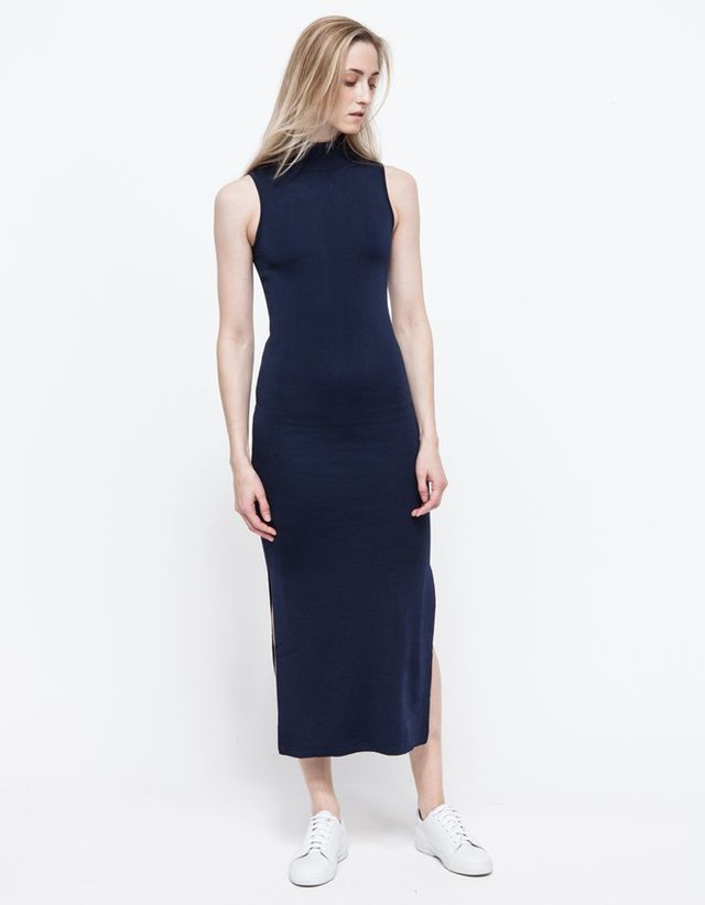 Ganni Long Beach Knit Dress