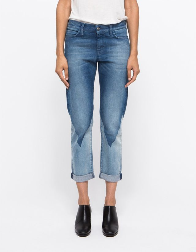 MiH Jeans Phoebe Slim in Triangle Wash