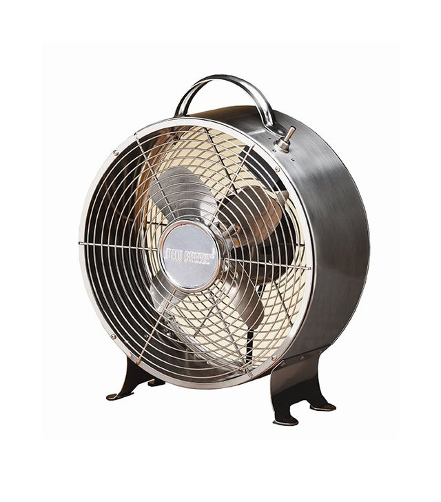 Deco Breeze Round Retro Table Fan