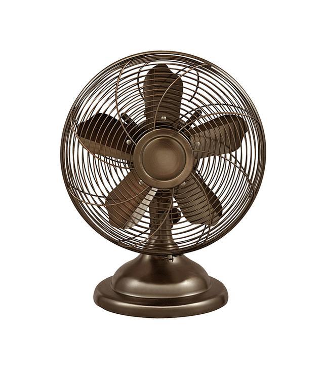 Optimus Oscillating Antique Table Fan