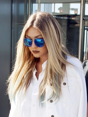 How to Pull Off Head-to-Toe White Like Gigi Hadid
