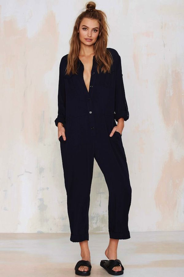 Nasty Gal Sky's the Limit Utility Jumpsuit
