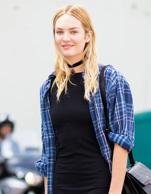 Model-Off-Duty Style: Get Candice Swanepoel's Grunge-Chic Look