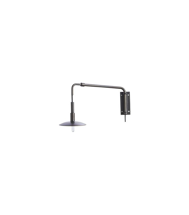 Crate and Barrel Blake Tovin Swing Arm Bronze Sconce