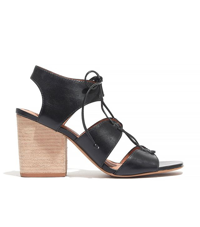 Madewell Rooney Lace-Up Sandals