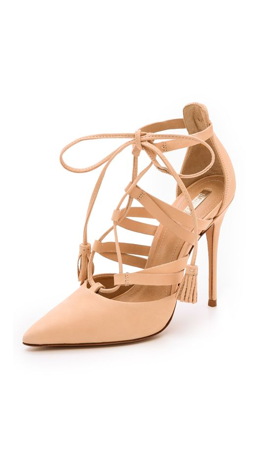 Schutz Zora Lace-Up Pumps