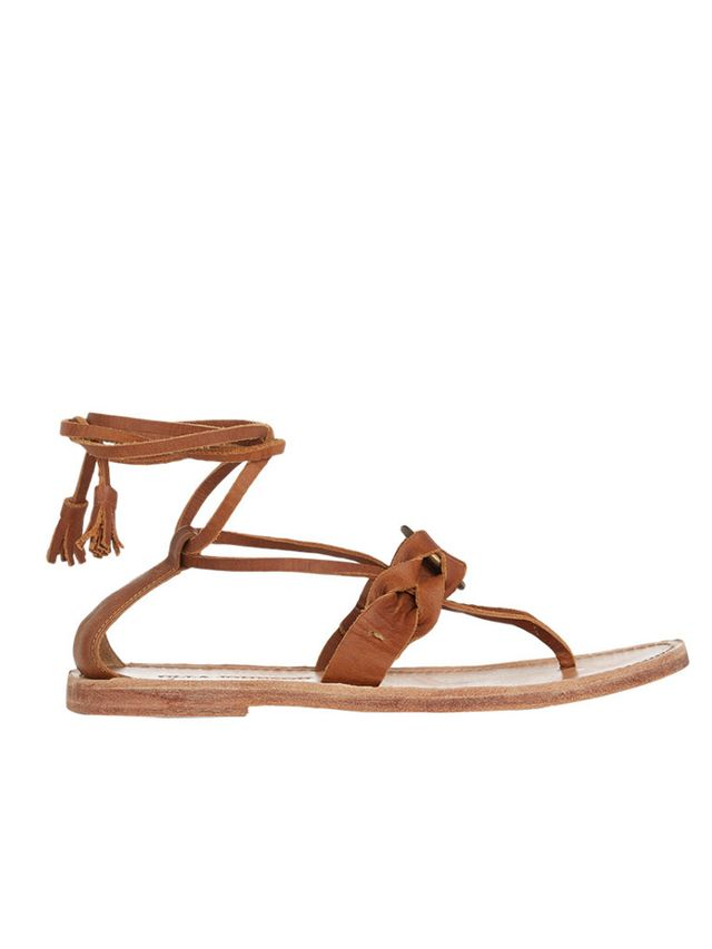 Ulla Johnson Renata Ankle-Wrap Sandals