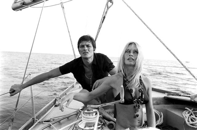 Brigitte Bardot and Alain Delon cruise the seas in the South of France and look fabulous doing it (naturally!).  Check out some stylish travel essentials below.  Which of these photos is your...