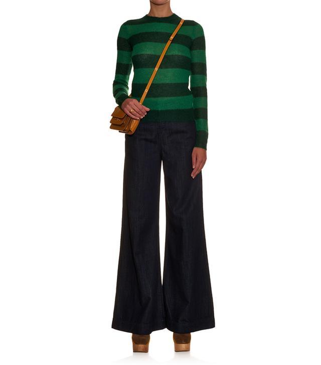 J Brand Melody High-Rise Wide-Leg Jeans