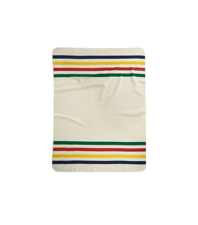 Hudson's Bay Company for Lord & Taylor Signature Striped Fleece Throw