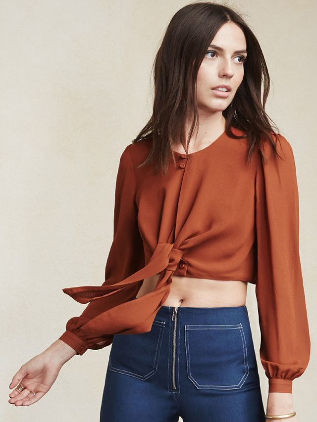 Reformation x Jeanne Damas Mohawk Top