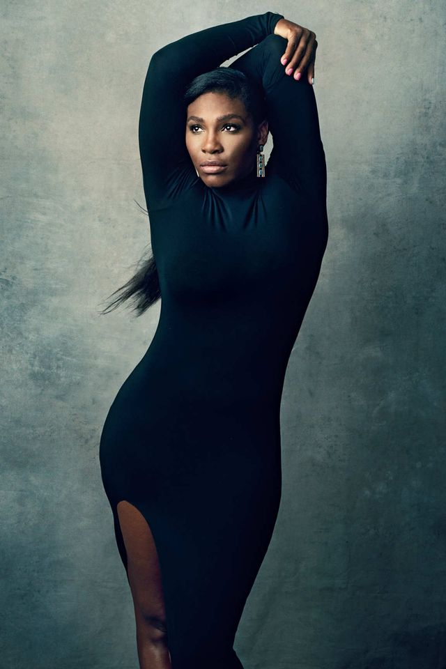Serena Williams Covers New York Magazine's Fall Fashion Issue