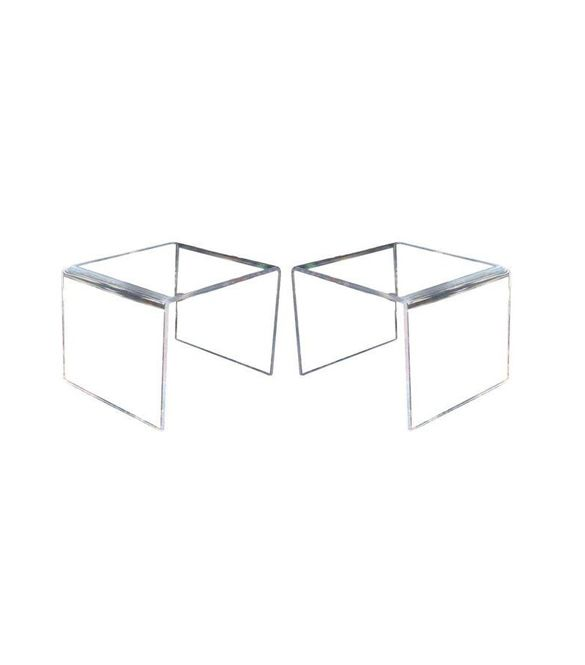 Chairish Chairish Lucite Side Tables