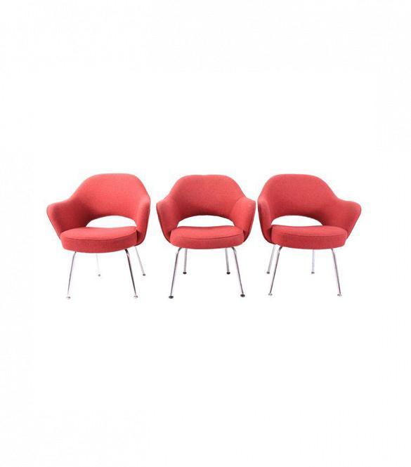 Chairish Knoll Saarinen Executive Chairs