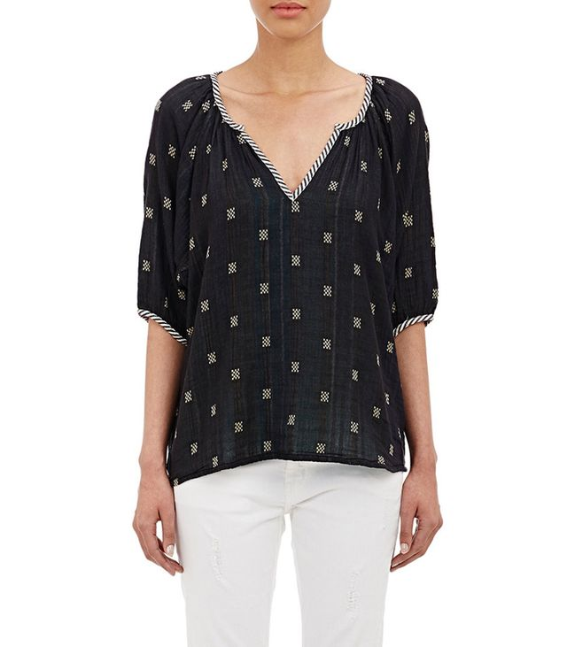 Age & Jig Embroidered Meadow Tunic