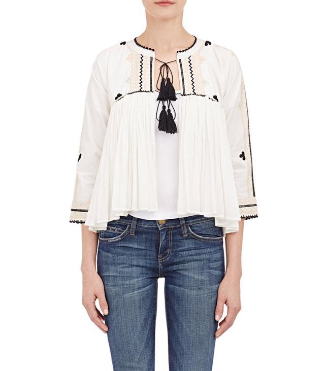 Ulla Johnson,Zara Embroidered Soledad Jacket