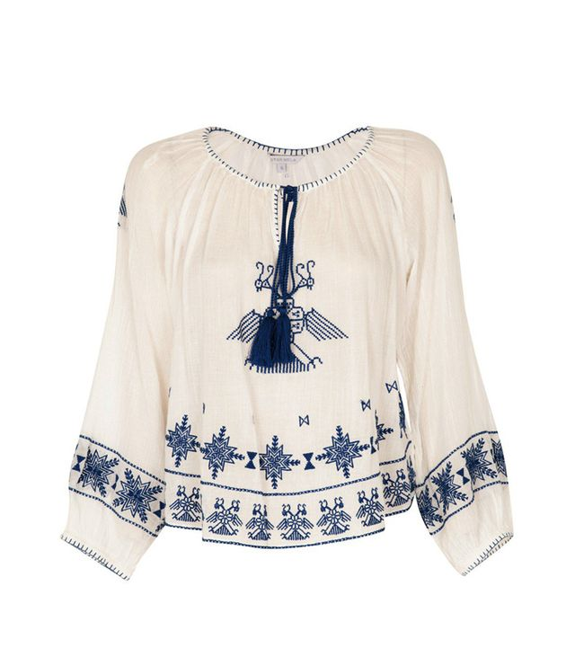 Star Mela Lipi Embroidered Top