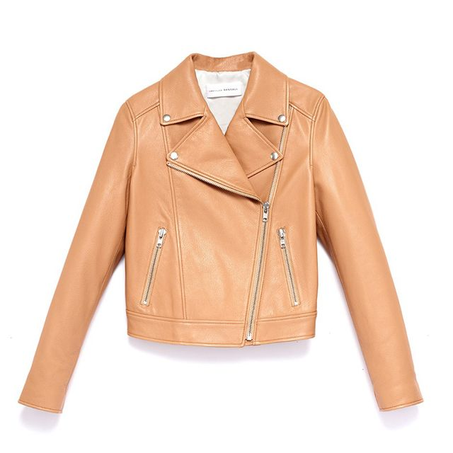 Loeffler Randall Leather Moto Jacket