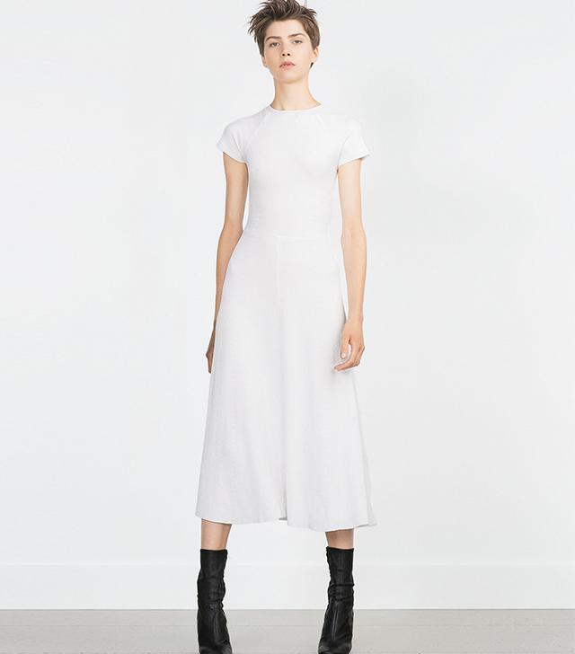 Zara Short-Sleeve Dress