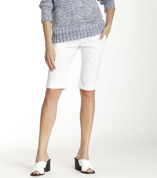 L'Agence Cuffed Walking Shorts
