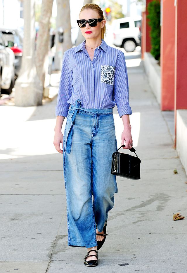 How Kate Bosworth Makes a $54 Shirt Look Expensive