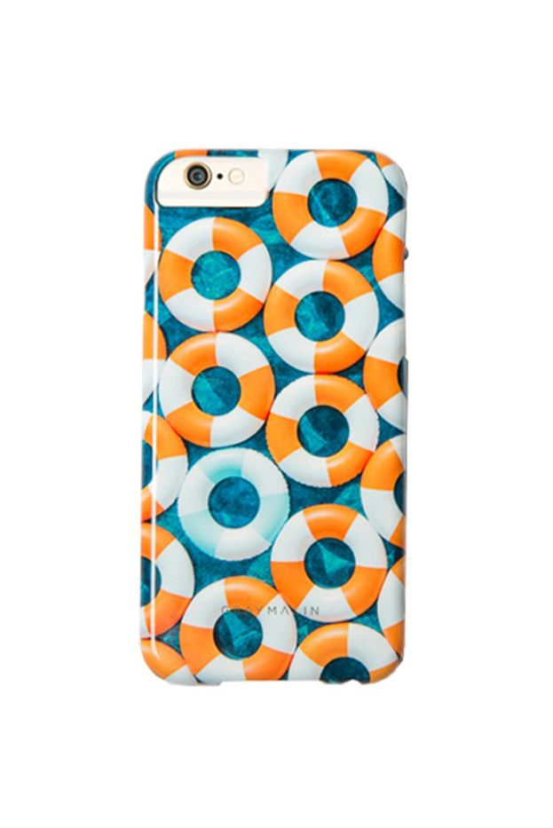 Gray Malin Orange Inner Tubes iPhone Case