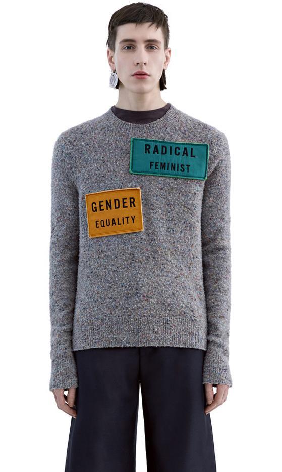 Acne Studios Peele Patches Sweater