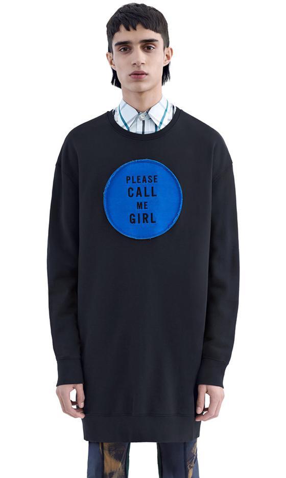 Acne Studios Please Call Me Girl Sweatshirt