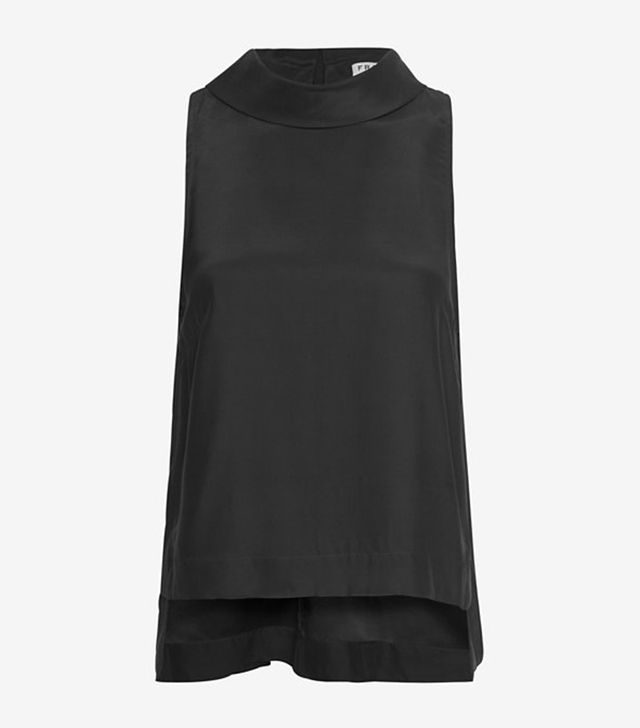 Frame Exclusive Mock Neck Top