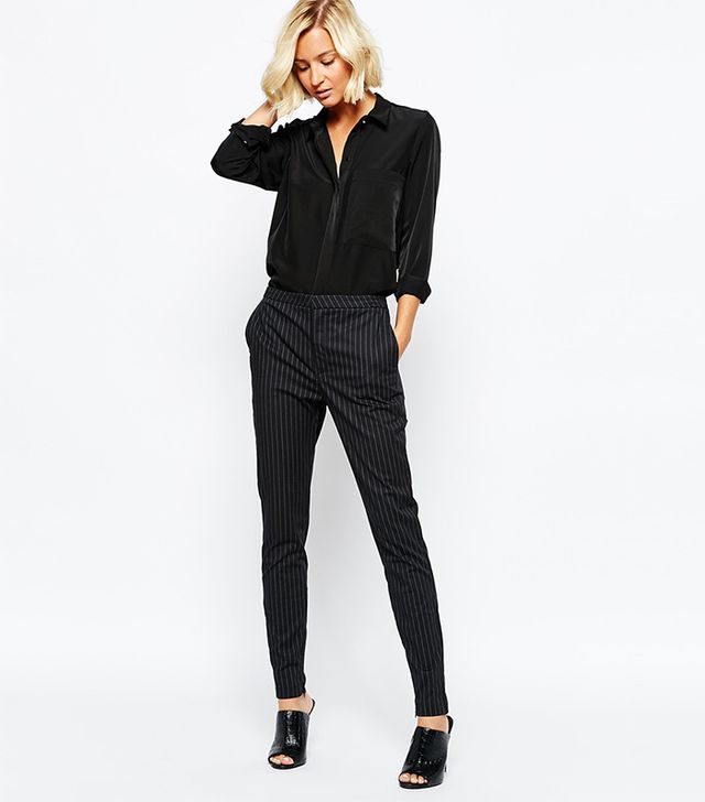 Selected Muse Cropped Skinny Pants