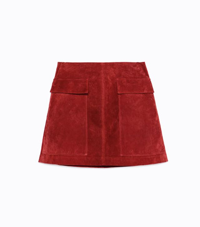 Zara Suede Skirt