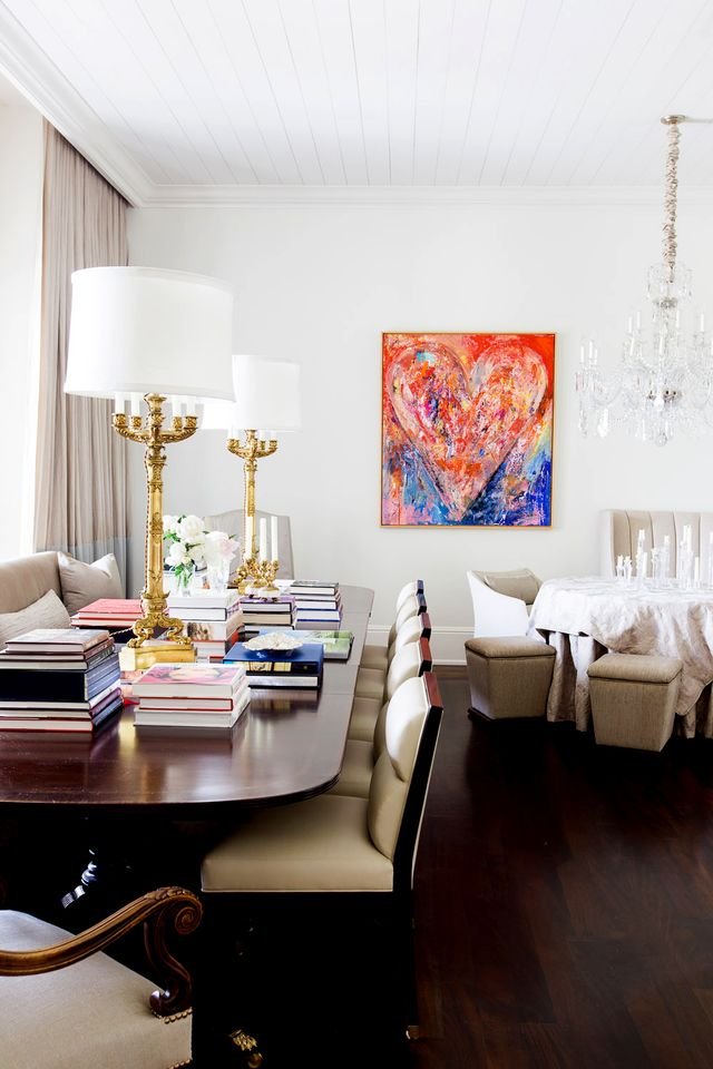 For the full tour, visit Elle Decor.  Thinking about starting your own art collection? Take our art personality quiz and let us know what you think of this art-filled Nashville mansion in the...